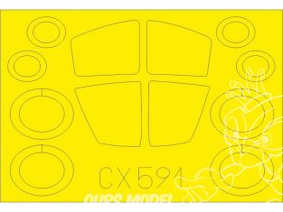 Eduard Express Mask CX591 EF-111A Revell 1/72