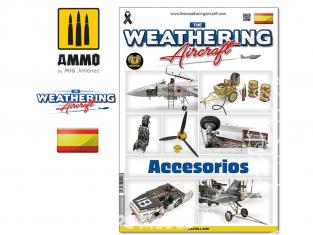MIG Weathering Aircraft 5118 Numero 18 Accesorios en langue Castellane