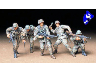 tamiya maquette militaire 35196 infanterie allemande 1/35
