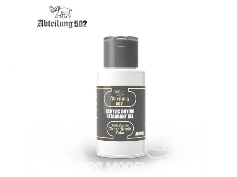Abteilung 502 Tube Couleurs acryliques denses de haute qualité ABT1151 GEL RETARDANT SECHAGE ACRYLIQUE