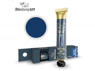 Abteilung 502 Tube Couleurs acryliques denses de haute qualité ABT1128 Bleu primaire