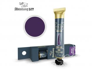 Abteilung 502 Tube Couleurs acryliques denses de haute qualité ABT1127 Violet foncé