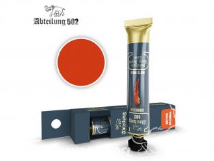 Abteilung 502 Tube Couleurs acryliques denses de haute qualité ABT1125 Vermillon