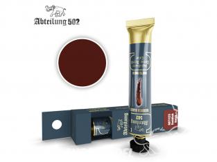 Abteilung 502 Tube Couleurs acryliques denses de haute qualité ABT1123 Noir rougeâtre