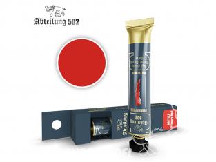 Abteilung 502 Tube Couleurs acryliques denses de haute qualité ABT1122 Rouge primaire