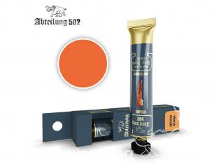 Abteilung 502 Tube Couleurs acryliques denses de haute qualité ABT1120 Orange