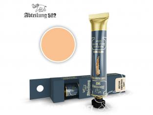 Abteilung 502 Tube Couleurs acryliques denses de haute qualité ABT1118 Chair claire