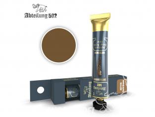 Abteilung 502 Tube Couleurs acryliques denses de haute qualité ABT1115 Brun terre