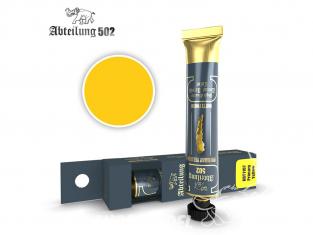 Abteilung 502 Tube Couleurs acryliques denses de haute qualité ABT1107 Jaune Primaire