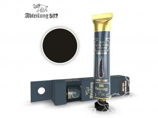 Abteilung 502 Tube Couleurs acryliques denses de haute qualité ABT1103 NOIR FUMÉ
