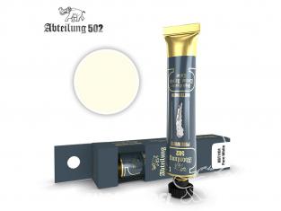 Abteilung 502 Tube Couleurs acryliques denses de haute qualité ABT1101 Blanc pur