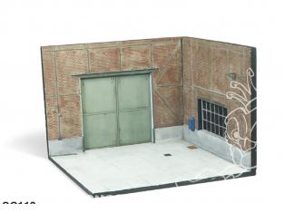 Vallejo Bases de diorama SC113 Porte d'usine 1/35