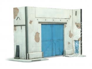 Vallejo Bases de diorama SC118 Porte d'usine exterieure 1/72