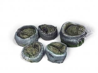 Vallejo Bases de diorama SC302 Souches de palmier 1/35