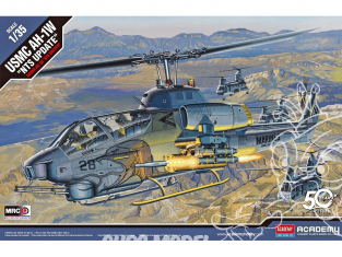 Academy maquette Helicoptére 12116 USMC AH-1W NTS Update 1/35
