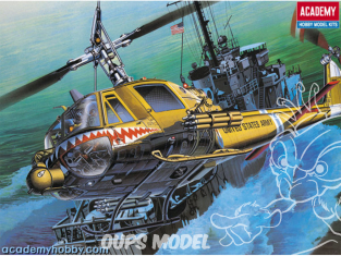 Academy maquette Helicoptére 12112 U.S. Army UH-1C Frog 1/35