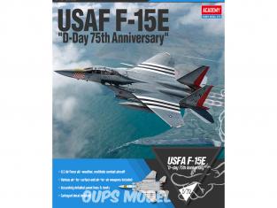 Academy maquette avion 12568 USAF F-15E D-Day 75th anniversaire 1/72