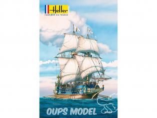 Heller maquette bateau 80835 Galion 1/200