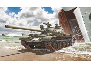 Italeri maquette militaire 7081 T-55 A 1/72