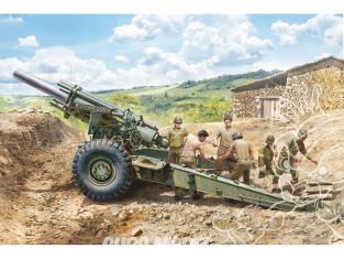 Italeri maquette militaire 6581 Obusier M1 155 mm 1/35