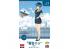 Hasegawa maquette figurine 52265 Collection Egg Girls n ° 12 «Maiyuki Sara (CA)» avec avion de ligne 1/20