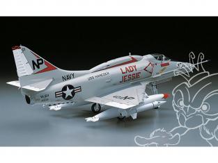 Hasegawa maquette avion 08063 A-4E / F Skyhawk 1/32