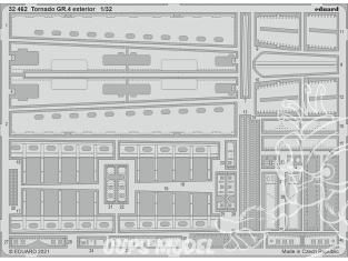Eduard photodécoupe avion 32462 Extérieur Tornado GR.4 Italeri 1/32