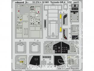 Eduard photodécoupe avion 33274 Amélioration Tornado GR.4 Italeri 1/32