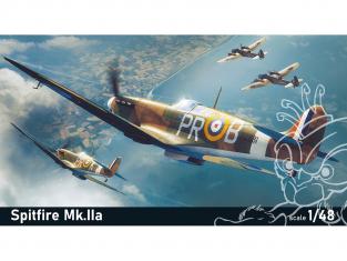 EDUARD maquette avion 82153 Spitfire Mk.IIa ProfiPack Edition 1/48