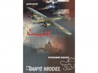 EDUARD maquette avion 11147 Kampfstift - Dornier Do 17Z 1939 - 1942 Edition Limitée 1/48