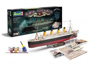 Revell maquette bateau 05715 Coffret R.M.S. Titanic 100th Anniversaire 1/400