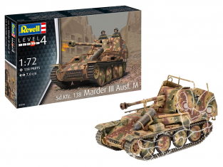 Revell maquette militaire 03316 Sd.Kfz. 138 Marder III Ausf. M 1/72