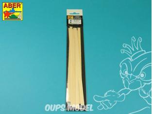 Aber accessoire WL1,5x6 Lattes de tilleul 1,5 x 6 x 245 mm x 7 pcs.