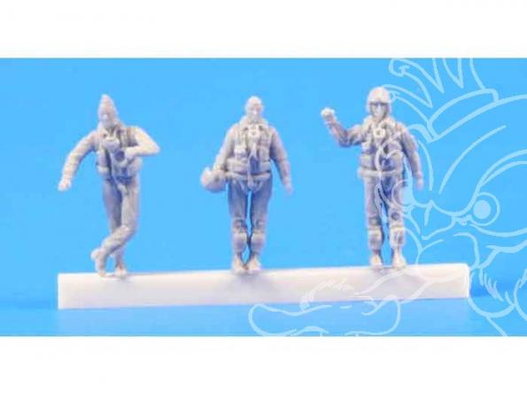 CMK figurine 72222 PILOTES DE JET EPOQUE MODERNE 1/72