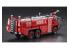 Hasegawa maquette camion 52268 Camion de pompier chimique pour aéroport Rosenbauer Panther 6 × 6 civil 1/72