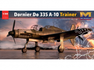 HK Models maquette avion 01E09 Dornier Do 335 A-10 Trainer 1/32