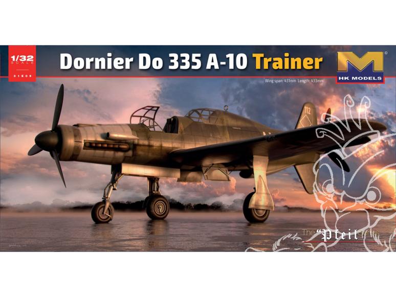 HK Models maquette avion 01E09 Dornier Do 335 A-10 Trainer 1/32