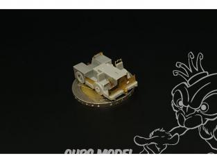 Brengun accessoire diorama BRS144055 Tracteur de pont d'envol britannique Tugmaster 1/144