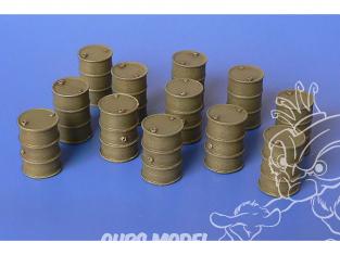 Hauler accessoires diorama HLH72118 Barils de carburant en résine 1/72