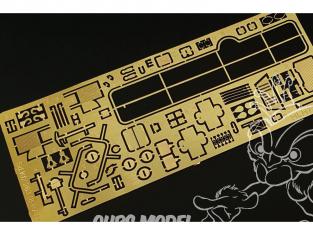 Hauler kit d'amelioration HLH72116 Sd.Kfz.263 (8-RAD) pour kit Roden 1/72