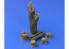 Hauler accessoires diorama HLX48399 SOUCHES et TRONCS D'ARBRES resine 1/48
