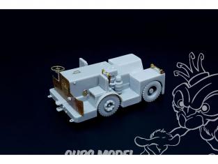 Brengun accessoire diorama avion BRS72019 Tracteur de pont UK Tugmaster 1/72