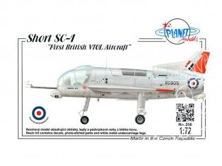 """Planet Model PLT266 Short SC-1 """"First British VTOL Aircraft"""" full resine kit 1/72"""