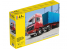 Heller maquette camion 81702 Volvo F12-20 Globetrotter et Remorque porte Container 1/32