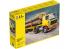 Heller maquette camion 81704 Volvo F12-20 cabine courte avec remorque à bois 1/32