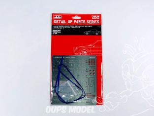 NuNu kit d'amelioration pour maquette de voiture NE24017 MITSUBISHI LANCER TURBO '82 RALY 1000 LAKES Detail Up Parts 1/24
