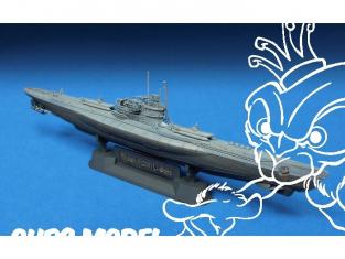 AFV maquette bateau se73504 U-BOAT TYPE VII /41 1/350
