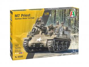 Italeri maquette militaire 6580 M7 Priest 1/35