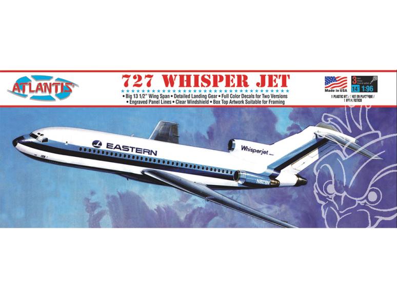 Atlantis maquette avion A351 S2F Hunter Killer 1/54