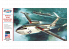 Atlantis maquette avion H244 Martin US Navy P-6M Seamaster 1/136